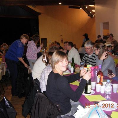 Repas partage du 23 Nov. 2012