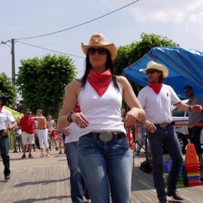 Démo à la kermesse de l'école de CROTH le 27 Juin 2010