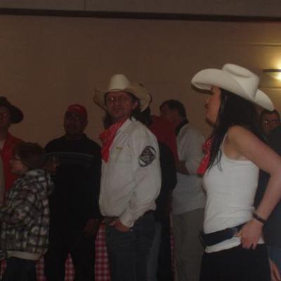 Soirée country organisée par le Comité des Fêtes de Croth le 19 Mars 2011