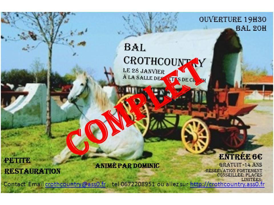 4ème bal de CROTHCOUNTRY le 28 Janvier 2012